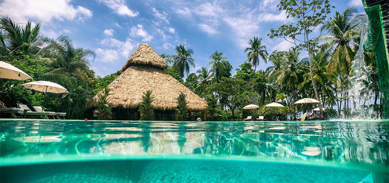 The Clandestino Beach Resort Hotel Is Located In Central Pacific Region Of Costa Rica A Large Stretch Sand That Forms This Wonderful Continental